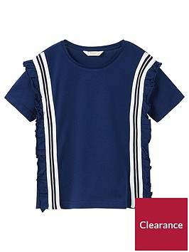 mango-girls-stripe-contrast-t-shirt