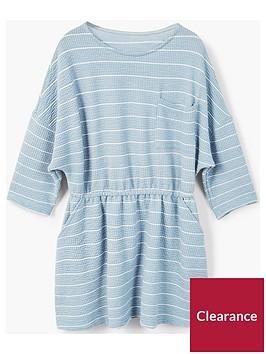 mango-girls-jersey-stripe-dress