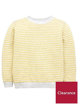 mango-boys-stripe-textured-knit-jumper-yellow