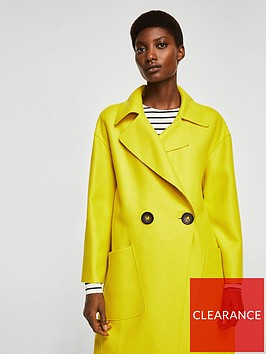mango-unstructured-wool-blend-coat-lime