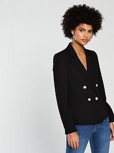 miss-selfridge-military-suit-blazer