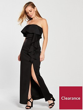 miss-selfridge-petite-scuba-ruffle-maxi-dress-blacknbsp