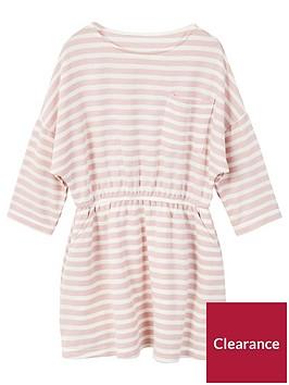 mango-girls-stripe-jersey-dress-pink