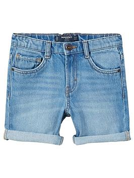 mango-boys-distressed-denim-shorts