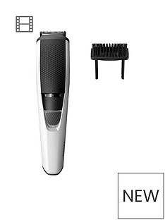 Philips Philips Series 3000 Beard & Stubble Trimmer with Stainless Steel Blades - BT3206/13