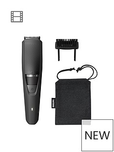 Philips Philips Series 3000 Beard & Stubble Trimmer with Full Metal Blades - BT3226/13