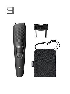 Philips Series 3000 Beard & Stubble Trimmer with Full Metal Blades - BT3226/13
