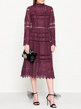 true-decadence-high-neck-lace-midi-dress-plum