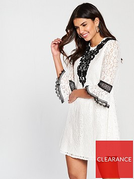 little-mistress-crochet-trim-mini-dress-white