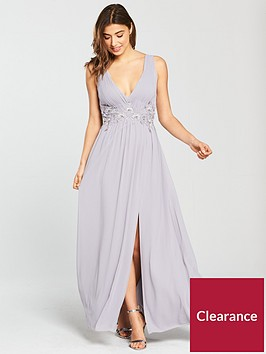 little-mistress-embroidered-maxi-dress-grey