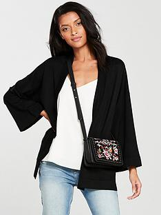 v-by-very-kimono-sleeve-edge-to-edge-cardigan-black