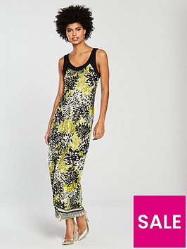 wallis-border-palm-maxi-dress