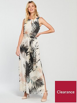 wallis-shadow-palm-chiffon-maxi-dress-multinbsp
