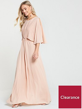 wallis-hotfix-maxi-dress-nude
