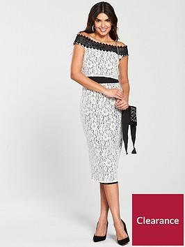 little-mistress-crochet-trim-pencil-dress-white