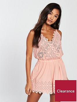 seafolly-broderie-playsuit-nude