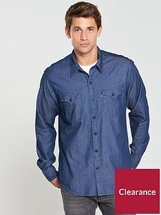 levis-levis-modern-barstow-western-denim-shirt