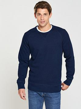 levi's levis original small batwing crew sweat