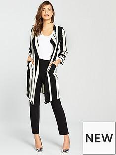wallis-cut-about-stripe-duster-monochrome