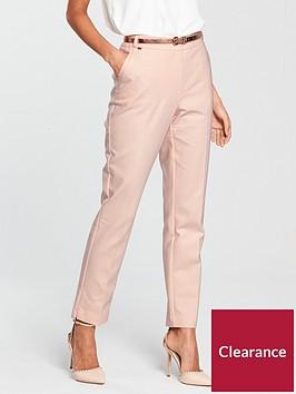 wallis-austin-rose-gold-studded-trouser-blushnbsp
