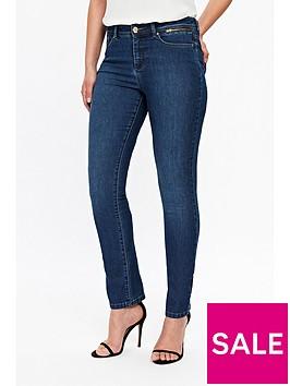 wallis-petite-harper-straight-cut-jeans-mid-wash