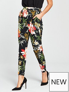 v-by-very-cuff-jersey-tropical-print-trouser