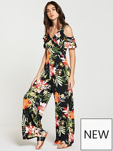 v-by-very-tropical-print-jersey-jumpsuit