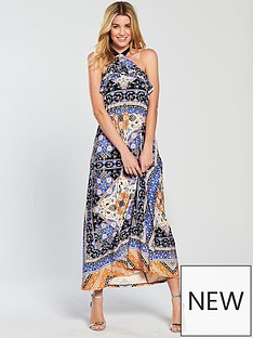 v-by-very-petite-scarf-print-jersey-maxi-dress