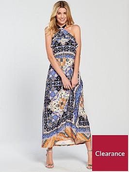 v-by-very-petite-scarf-print-jersey-maxi-dress