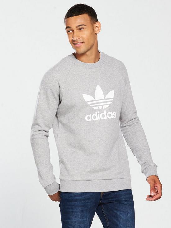 adidas Originals Trefoil Crew Neck Sweat  47ac02e9461