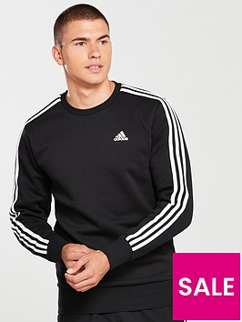 adidas-essential-3s-crew-neck-sweat