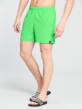 adidas-solid-swim-shorts
