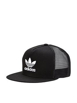 adidas-originals-trefoil-trucker-cap-black