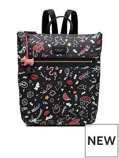 radley-radley-sugar-amp-spice-medium-ziptop-backpack
