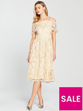 little-mistress-bardot-lace-midi-dress-beige