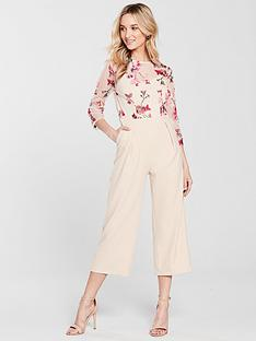 little-mistress-embroidered-top-jumpsuit-beige