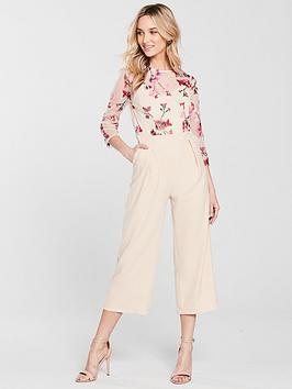 little-mistress-embroidered-top-jumpsuit-beige