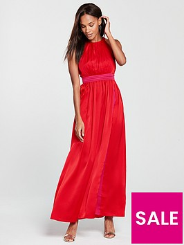 little-mistress-contrast-colour-maxi-dress-pomegranate