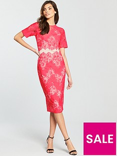 little-mistress-lace-pencil-dress-coralnbspnbsp