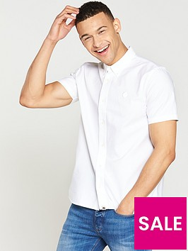 pretty-green-short-sleeved-stirling-oxford-shirt