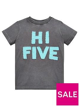 mini-v-by-very-boys-applique-hi-five-tee