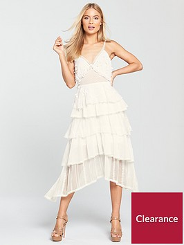 lost-ink-panelled-embroidered-fit-and-flare-dress--nbspwhite