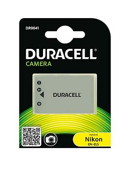 Image of Camera battery Duracell replaces original battery EN-EL5 3.7 V 1