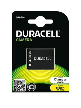 Image of Camera battery Duracell replaces original battery NP-45 3.7 V 63