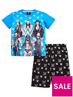 wwe-boys-shorty-pyjamas