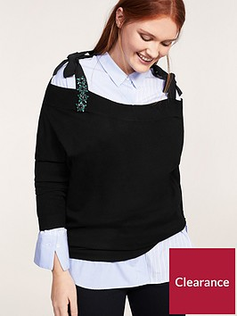violeta-plus-size-knitted-top-black