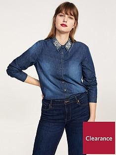violeta-violeta-plus-size-embellished-collar-denim-shirt