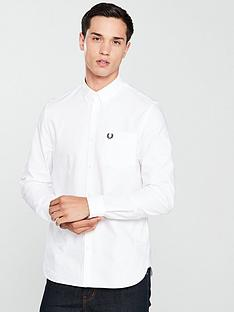 fred-perry-long-sleeve-oxford-shirt