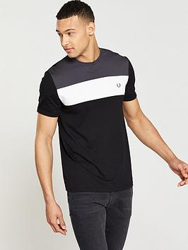 fred-perry-colour-block-t-shirt