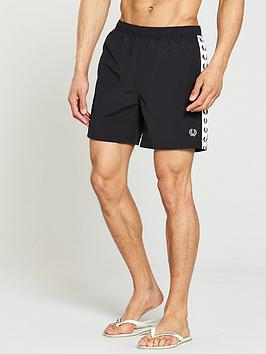 fred-perry-taped-swimshorts